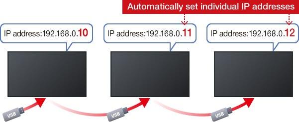 Automatycznie ustaw indywidualne adresy IP