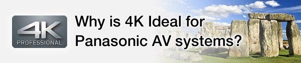 Dlaczego 4K jest idealne dla systemów AV Panasonic?