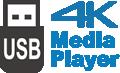 Odtwarzacz multimedialny USB 4K